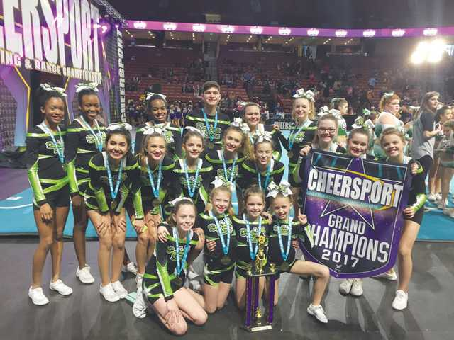 Cheerleading champs!