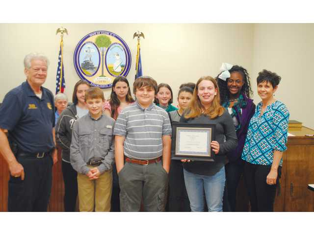 Elgin thanks SMS students for Toy Round Up assistance