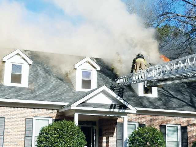 Man charged with arson for setting own home on fire