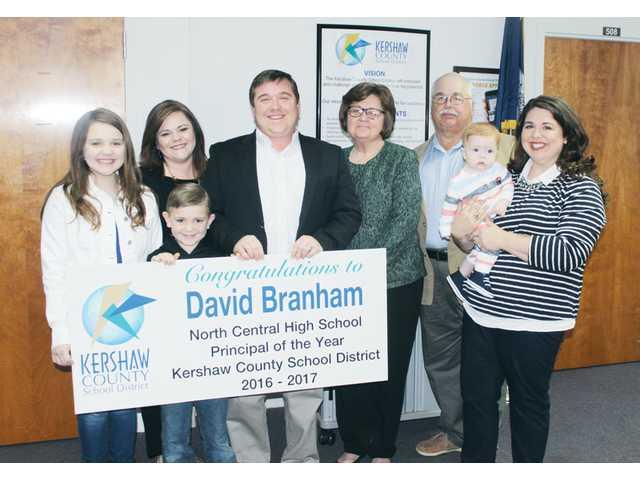 David Branham is 2017 KCSD Principal of the Year