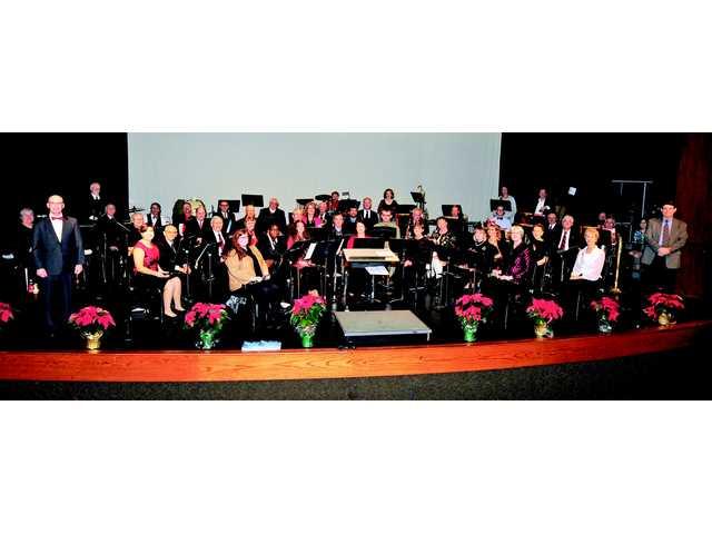 Camden Community Concert Band Winter concert