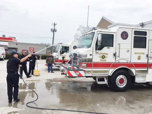 Lugoff Fire-Rescue dedicates new trucks