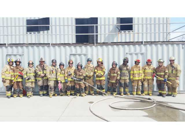 ATEC students learn skills at the Camden Fire Department