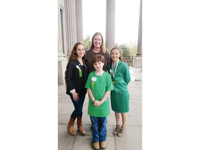 4-H Legislative Day, local 4-Hers visit state capital