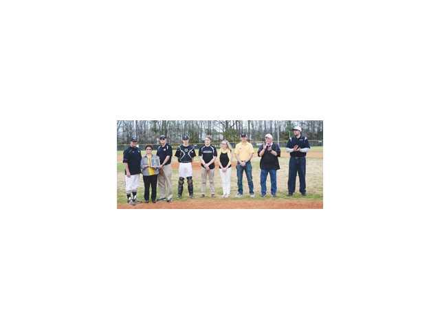CHS baseball practice infield a memorial to Garrett Dabbs