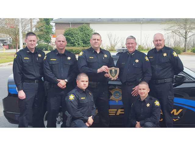KCSO earns sixth consecutive DUI enforcement award