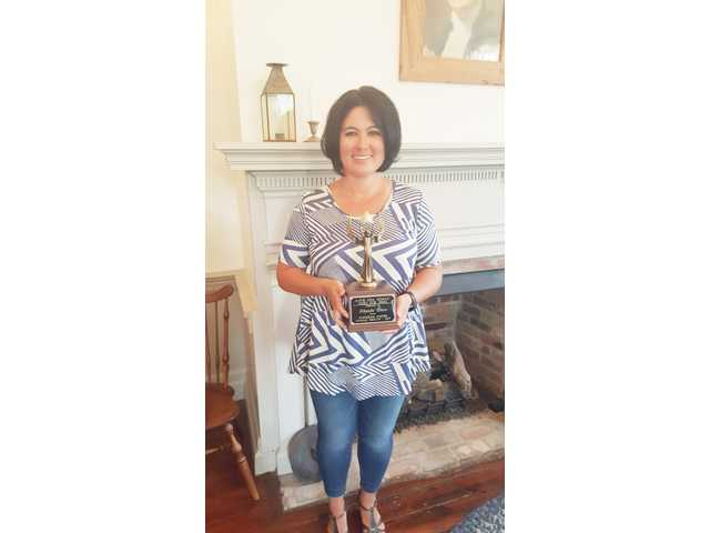 Shirey-Ware wins first Iseman award