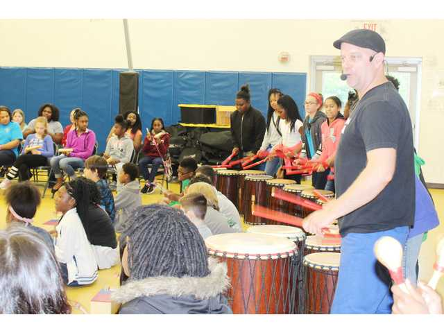 Jackson School drums up character