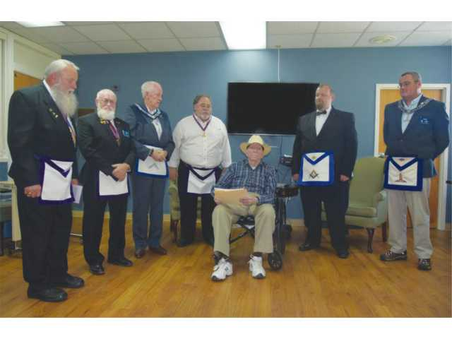 Masons honor Bowers for 60 years of service