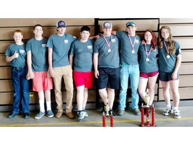 Lugoff, Camden fire explorers compete, win