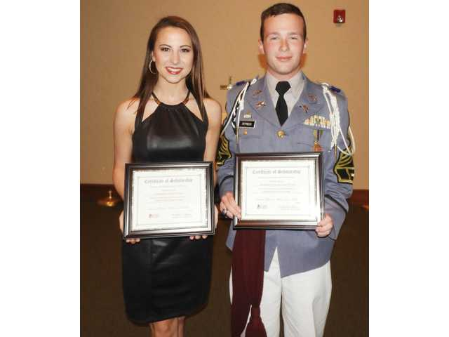 DAR honors exceptional students