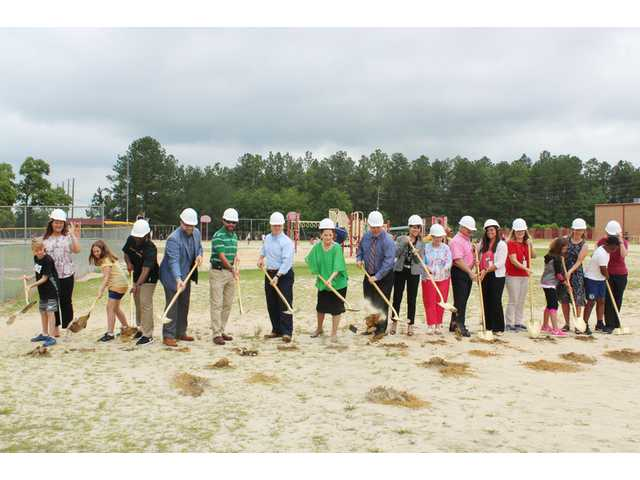 Ground broken for three new schools