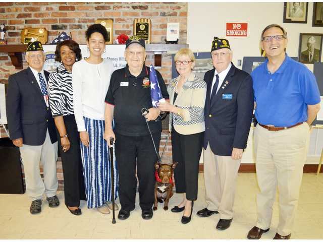 American Legion Post 17 honors Stoney Hilton