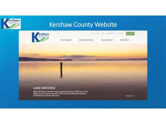 County website now updated