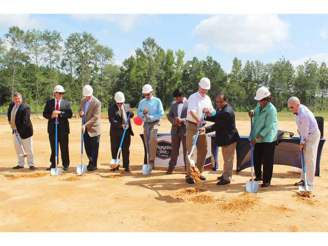 Hampton Inn Groundbreaking