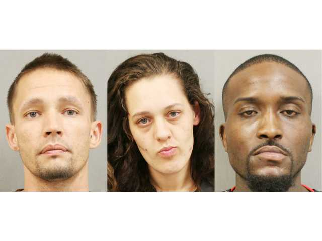 KCSO charges Lugoff trio with trafficking meth