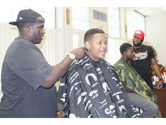 Free haircuts and fatherhood success intersect at JTC