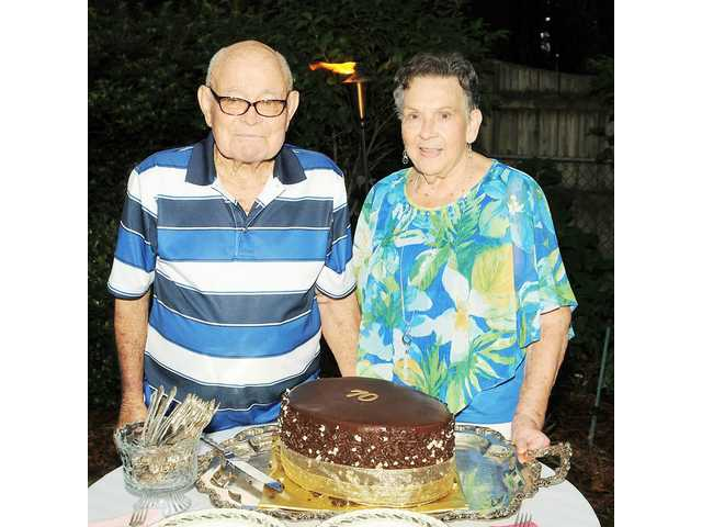 Rabons celebrate 70th wedding anniversary