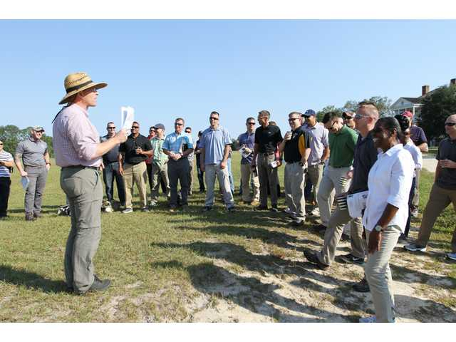 Army Central Command staff get Revolutionary history lesson
