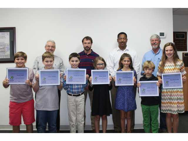 Students honored for perfect state test scores