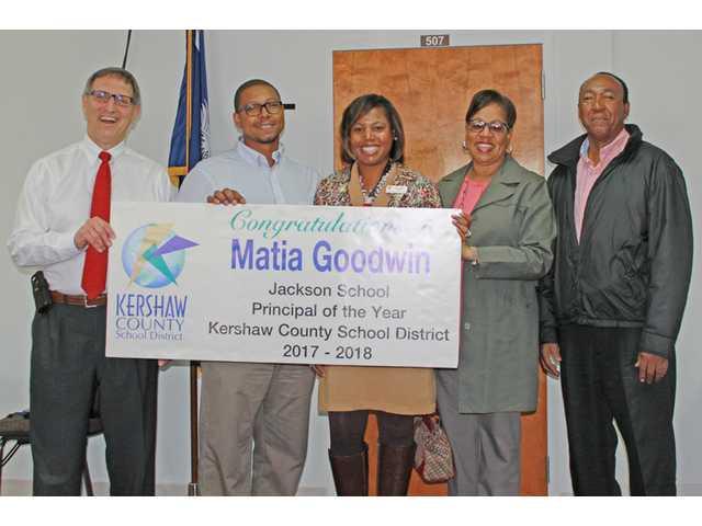 Matia Goodwin is 2018 KCSD Principal of the Year