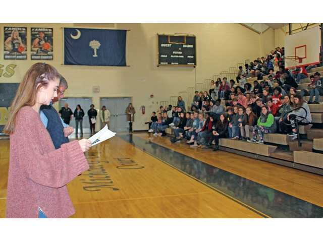CHS, other schools participate in walkouts