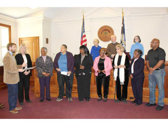 Camden council honors Price House Commission