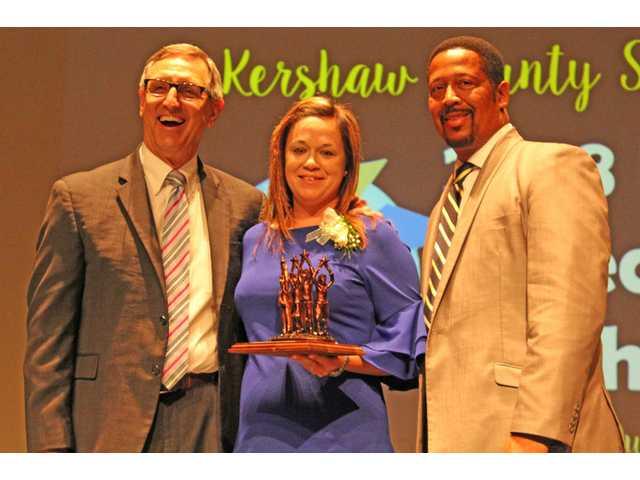 Frye is 2018 KCSD Teacher of the Year