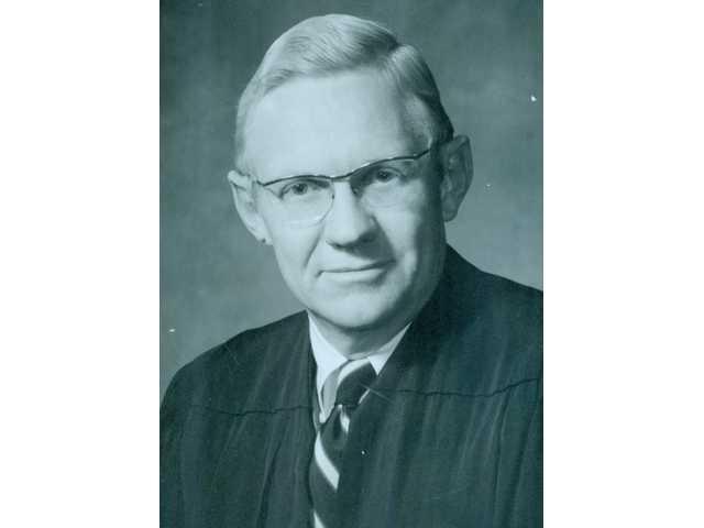Judge Robert Chapman passes away