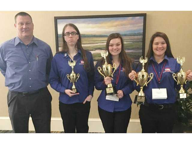 ATEC students take honors in state competition