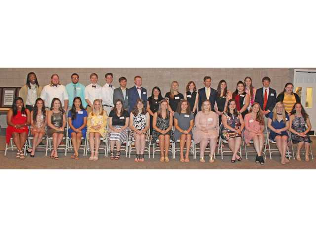 23rd All-County Academic Team celebrated Monday