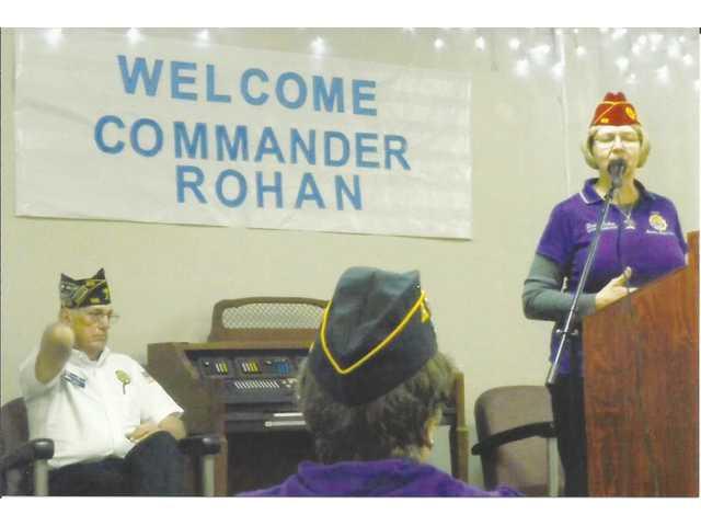 National commander visits Post 195