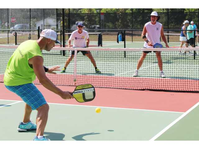 Feature photo: Pickleball tournament