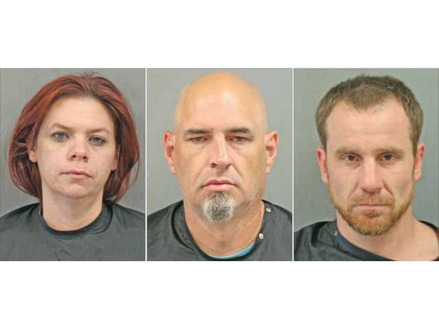 KCSO arrests three after receiving tip