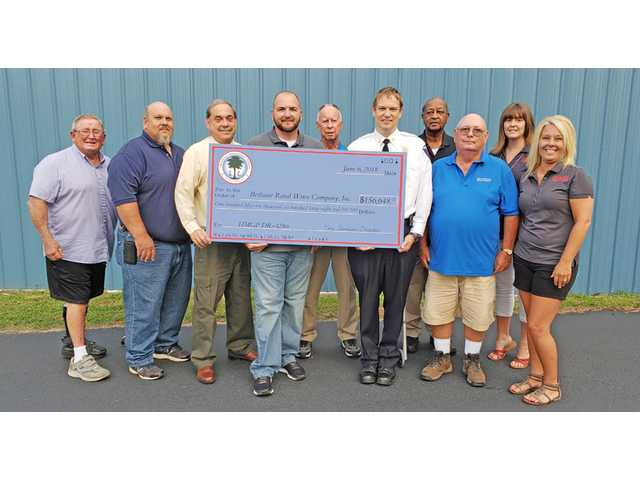 BRWC gets $156,648 grant for generators