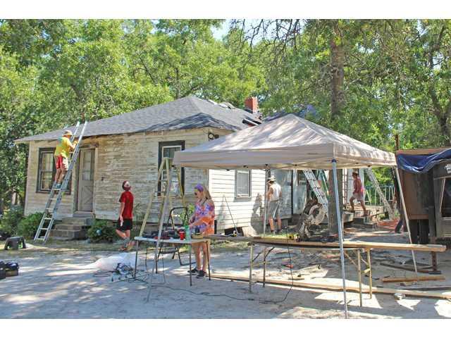 Camp Salkiehatchie shows love through hard work