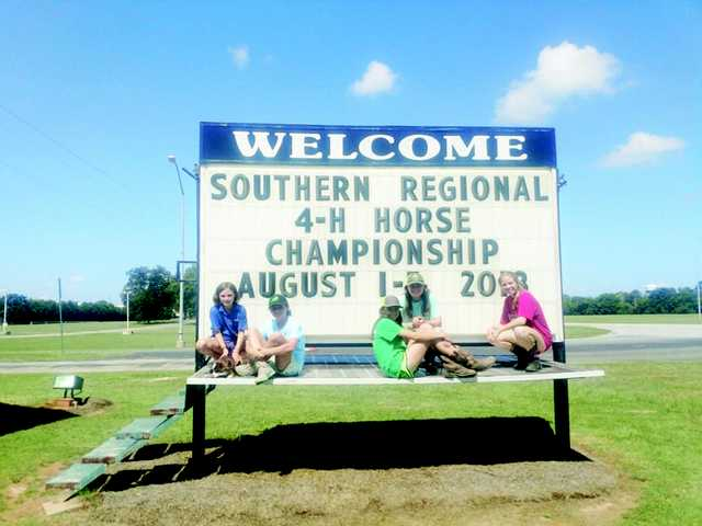 Kershaw County 4-H Horse Club Competes