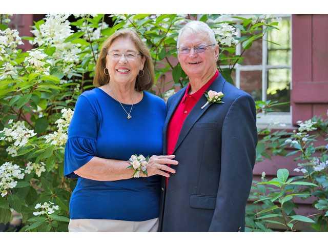 Mr. and Mrs. Larry Slade celebrate 50th wedding anniversary