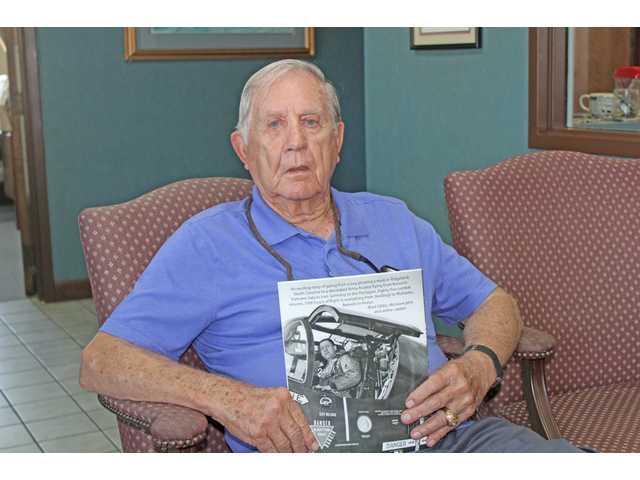 Camden veteran pens high flying memories