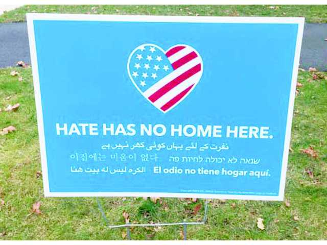 Editorial: 'Hate has no home here'