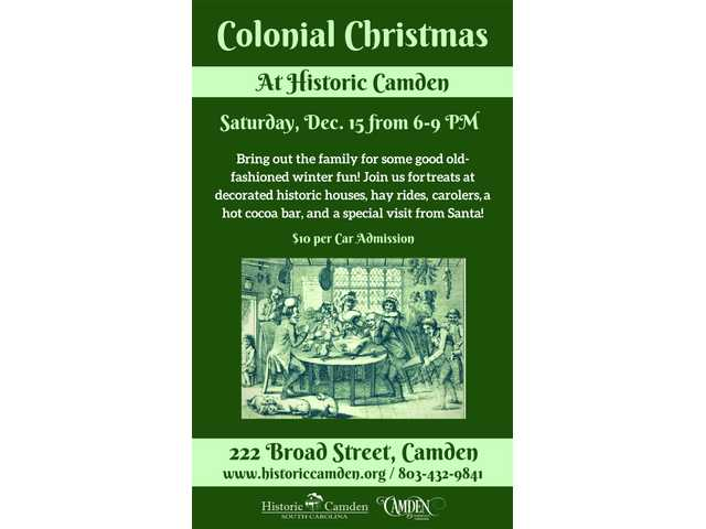 Historic Camden celebrates Colonial Christmas