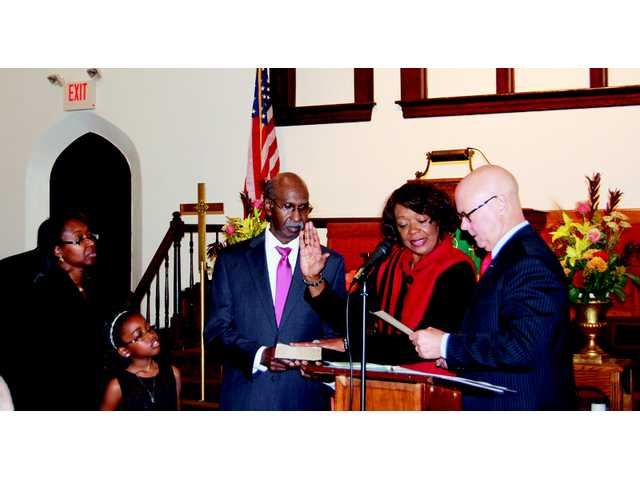 Alfred Mae Drakeford sworn in as Mayor of Camden
