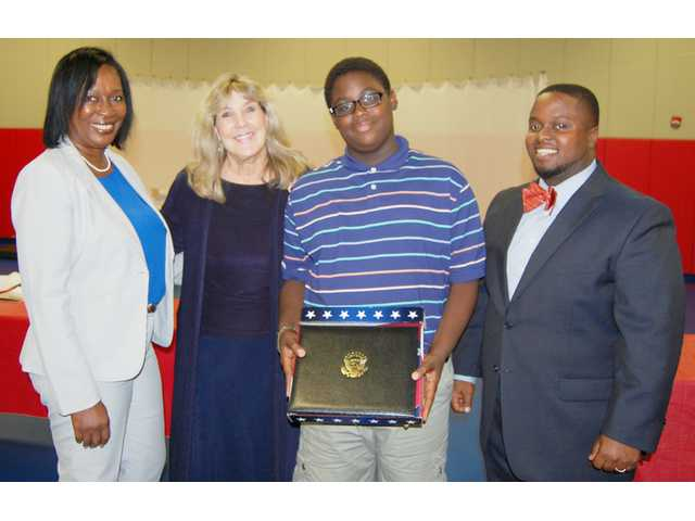 Heart recipient is American Legion essay contest winner