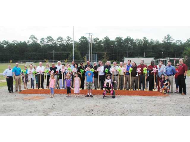 West Wateree Playground Project breaks ground