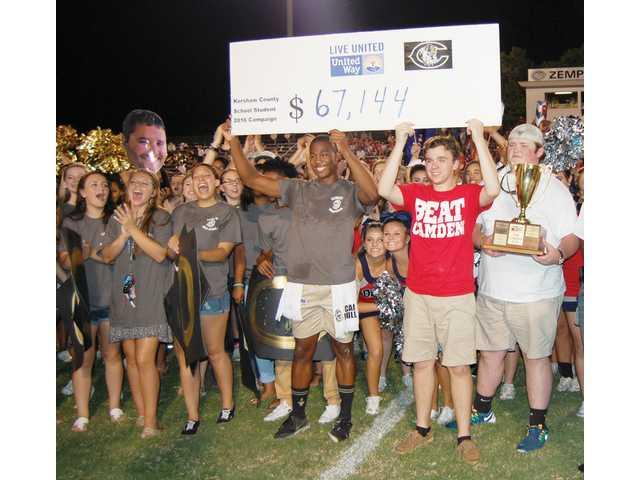 L-EHS, CHS raise more than $60,000 for UWKC