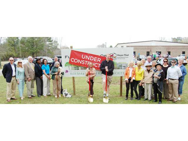 Humane Society breaks ground for new shelter