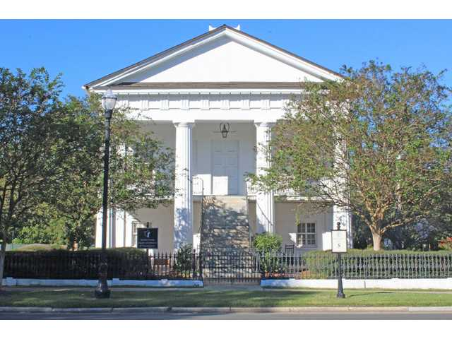 Chamber asking city to take over Robert Mills Courthouse