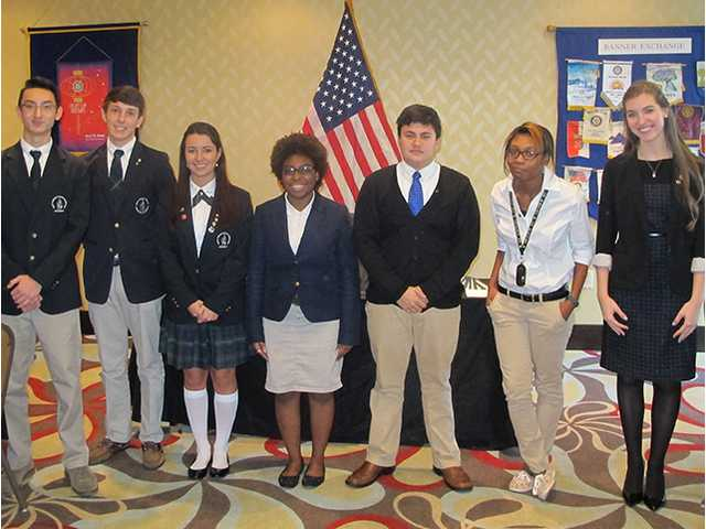 Rotary holds speech contest