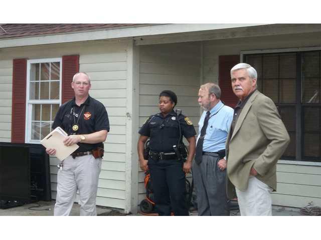 Multi-agency burglary bust made