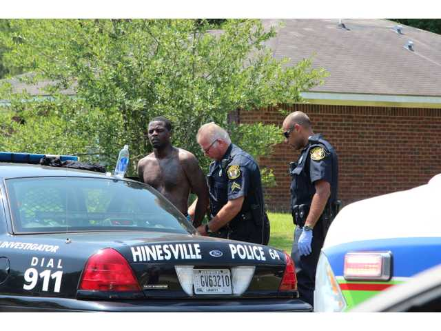 Robbery suspect caught